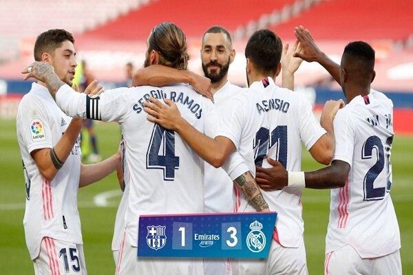پیروزی شیرین رئال در خانه بارسلونا