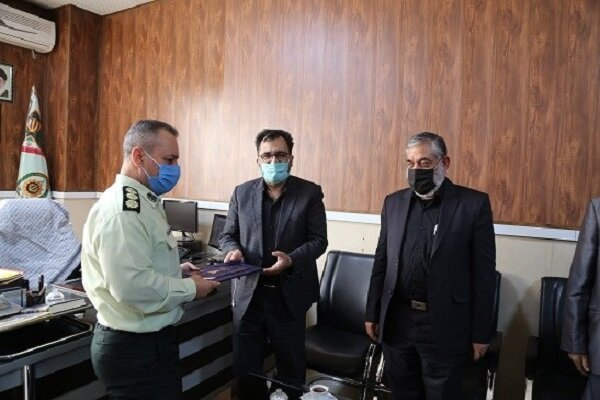 آمادگی دفتر مشاوره امین واحد شهرقدس برای همکاری عملیاتی با ناجا