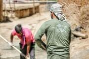 ساخت خانه در استان لرستان توسط دانشجویان جهادی واحد علوموتحقیقات