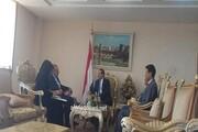 سفیر جدید ایران در یمن رونوشت استوارنامه خود را تسلیم کرد