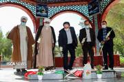 سفر معاون فرهنگی دانشگاه آزاد اسلامی به استان هرمزگان