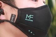 تولید اولین ماسک مجهز به هدفون در جهان