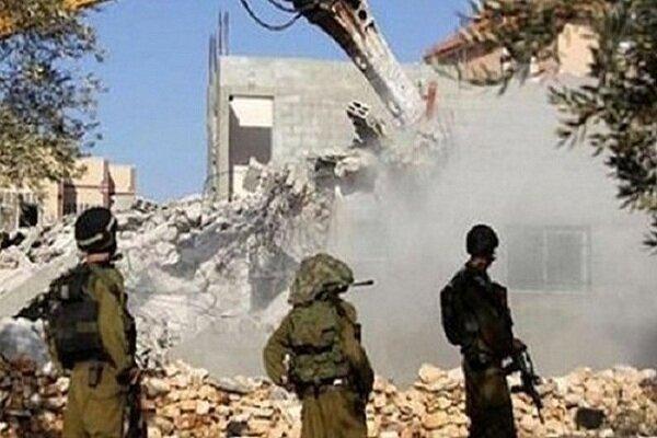 رژیم صهیونیستی در تخریب منازل مسکونی فلسطینیان رکورد زد