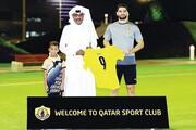 حضور علی کریمی در تمرین القطر با استقبال ستاره سابق باشگاه