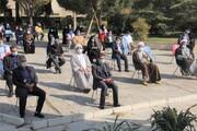 تجمع دانشگاهیان دانشگاه آزاد اسلامی کرج در گرامیداشت یوم الله ۱۳ آبان