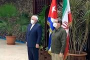 دیدار ظریف با وزیر خارجه کوبا