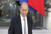 وزیر خارجه فرانسه در الازهر مصر سخنرانی میکند