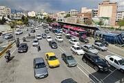 وضعیت ترافیکی معابر پایتخت؛