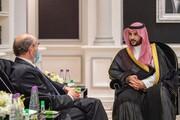 دیدار معاون ولیعهد سعودی با نماینده ویژه آمریکا در امور ایران