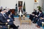 ظریف با نخست وزیر پاکستان دیدار کرد