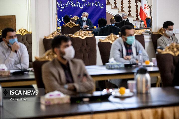 نشست مسئولین بسیج دانشجویی دانشگاه آزاد اسلامی