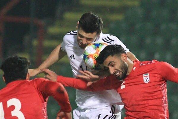 پیروزی تیم ملی فوتبال ایران برابر بوسنی