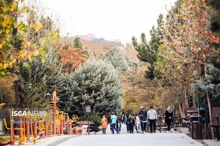 حال و هوای پاییزی تهران
