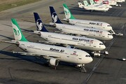 پروازهای امروز مهرآباد راس ساعت مقرر انجام میشود