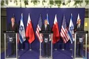 کنفرانس خبری مشترک نتانیاهو، الزیانی و پامپئو در قدس اشغالی برگزار شد