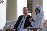 وزیر خارجه آمریکا در دوحه با امیر قطر دیدار کرد