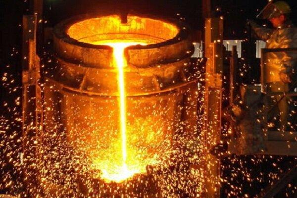 رشد ۴.۵ درصدی تولید فولاد خام ایران