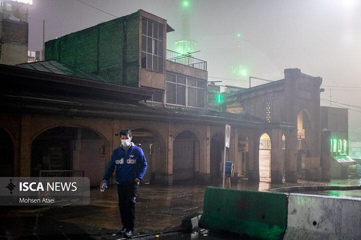 سکوت مهآلود تهران