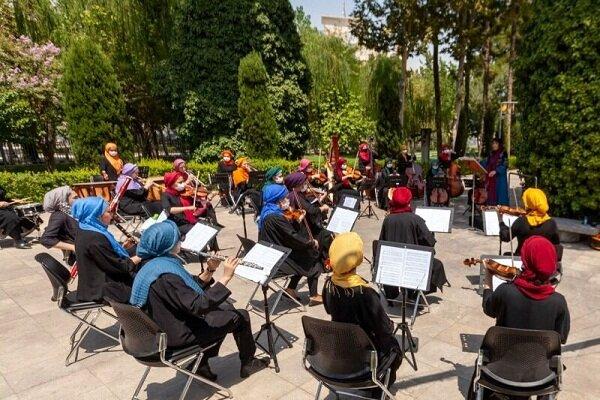 انتشار «سرزمین مادری» از ارکستر سمفونیک بانوان