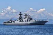 ماجراجویی ناوشکن آمریکایی در آبهای روسیه/«جان مک کین» اخطار گرفت
