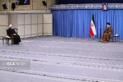 دیدار اعضای شورای عالی هماهنگی اقتصادی با مقام معظم رهبری