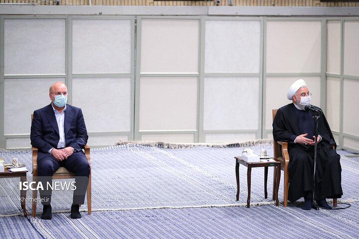 جلسه ویژه شورای عالی هماهنگی اقتصادی در حضور مقام معظم رهبری