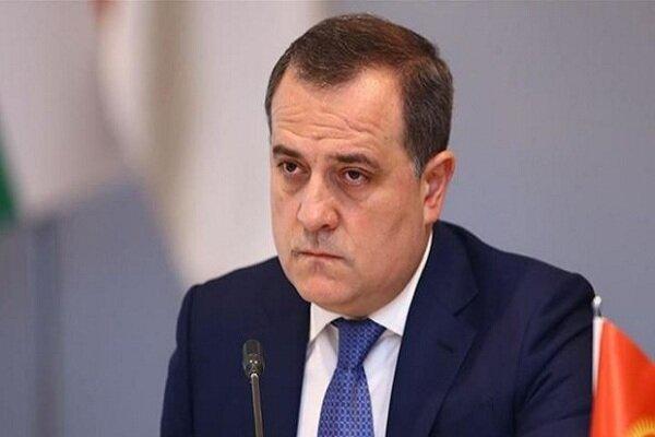 وزیر خارجه جمهوری آذربایجان ترور شهید فخری زاده را محکوم کرد
