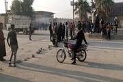 تظاهرات مردم «حسکه» سوریه برای اخراج اشغالگران آمریکایی