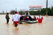 گزارش مجموع امدادرسانیهای انجام شده در استان های درگیر سیل و برف