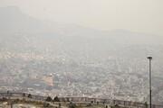 تشدید آلودگی هوا در تهران