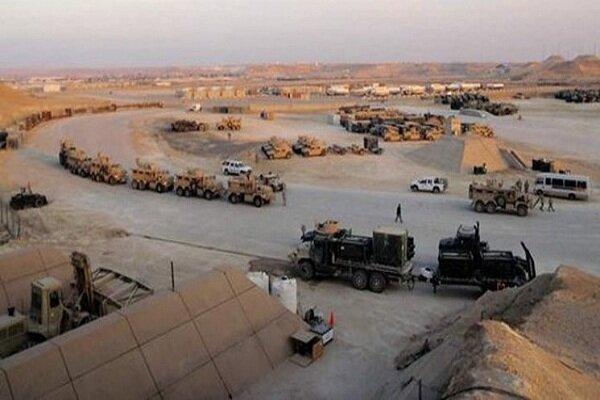 آماده باش در پایگاه عین الاسد در غرب عراق