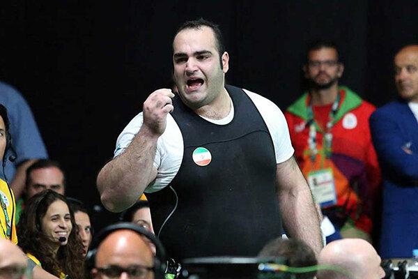 دعوت بهداد سلیمی، قهرمان وزنه برداری به پویش #من_ماسک_میزنم