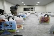 ۶٠ بسته معیشتی کمک مومنانه در مناطق محروم اهواز توزیع شد