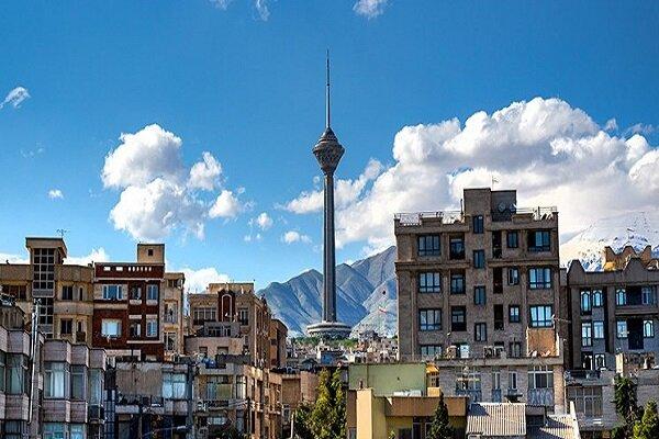کیفیت هوای پایتخت افزایش یافت/ بازگشت هوای پاک به آسمان تهران