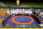 پیروزی کشتیگیران دانشگاه آزاد اسلامی مقابل تیم شهدای زنجان