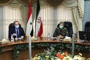 تاکید وزیر دفاع بر عزم ایران برای بازسازی سوریه