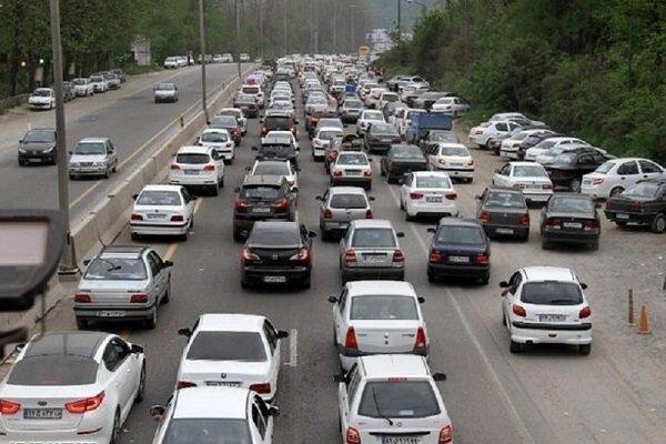 وضعیت جاده ها | افزایش ۷.۹ درصدی تردد در محورهای برونشهری