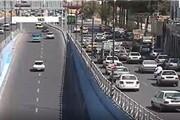 کارکردهای ترافیکی بزرگراه شهیدنجفی رستگار درمسیرهای تندروتکمیل شد