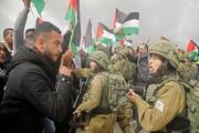 صهیونیستها به معترضان فلسطینی در کرانه باختری یورش بردند