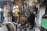آتش سوزی در کارگاه تراشکاری/ نگهبان جان باخت
