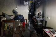 آتش سوزی در برجهای مهستان/ ۳۵ نفر نجات پیدا کردند