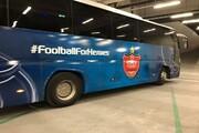 اتوبوس آبیِ پرسپولیس در قطر سوژه شد