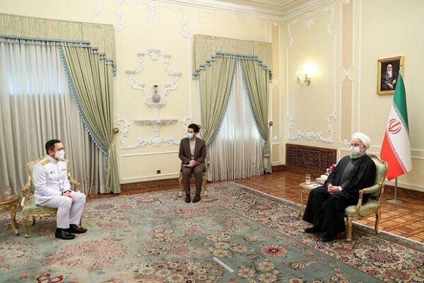 تهران آماده گسترش همکاریها با بانکوک در همه زمینههاست