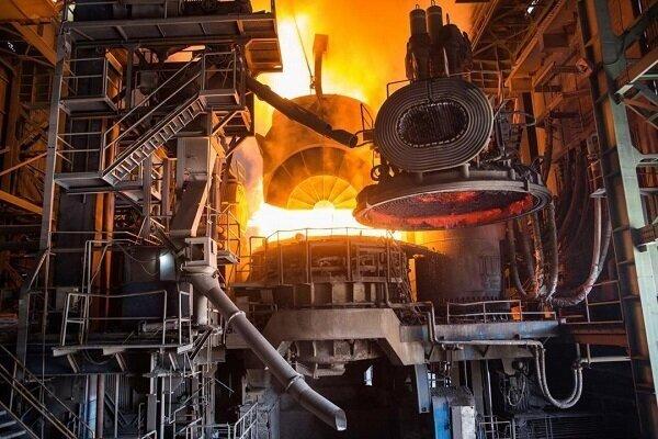 افزایش تولید ۱۳ درصدی شمش و ۸ درصدی محصولات فولادی
