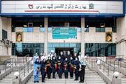 تقدیر از کادر درمان بیمارستان شهیدمدرس توسط خیرین سراسر کشور