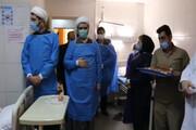 تجلیل نماینده رهبرانقلاب در دانشگاهها از پرستاران بیمارستان امیرالمومنین (ع)