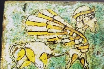 ۴۹ قطعه آجر لعابدار ۲۸۰۰ساله از سوئیس به ایران آمد
