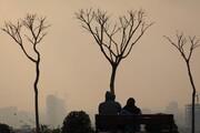 ذرات معلق باز هم هوای پایتخت را خاکستری کرد
