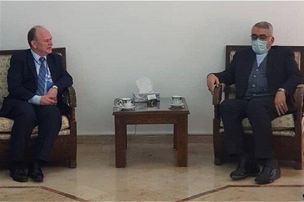 معاون بینالملل دانشگاه آزاد اسلامی با وزیر علوم سوریه دیدار کرد