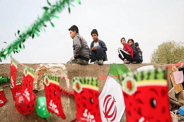 ۱۵۰۰ بسته یلدایی در میان کودکان کار توزیع شد